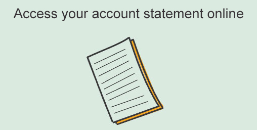 Access your account statement online
